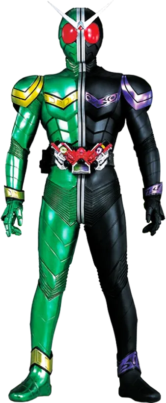 Kamen Rider W Batch : kamen, rider, batch, Kamen, Rider, Double, Protagonists, Characters, Tropes