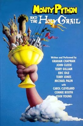 Image result for monty python and the holy grail poster