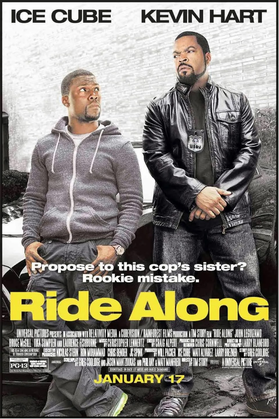 Ride Along (Film) - TV Tropes