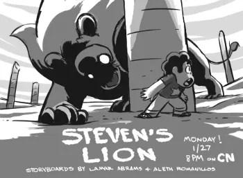 Steven Universe S1E10 Stevens Lion  Recap  TV Tropes