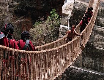 Image result for temple of doom rope bridge
