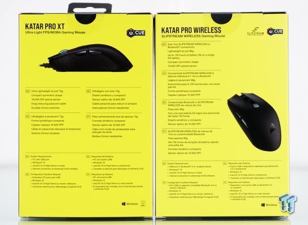 Corsair Katar Pro Xt Katar Pro Wireless Gaming Mouse Review Tweaktown