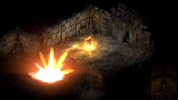 Diablo 2 Resurrected shows mercenary skill levels and damage 65 | TweakTown.com