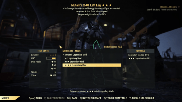 Fallout 76 players really don't like the new legendary crafting system 342 | TweakTown.com