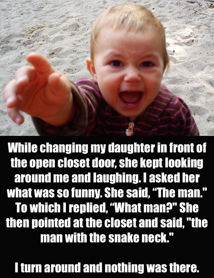 21 hilariously creepy things