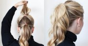 simple styles long hair