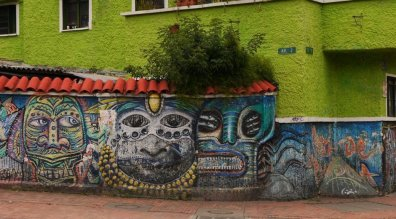 Streetart Bogota Green