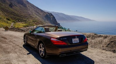 Roadtrip California Highway 1 Mercedes SL550