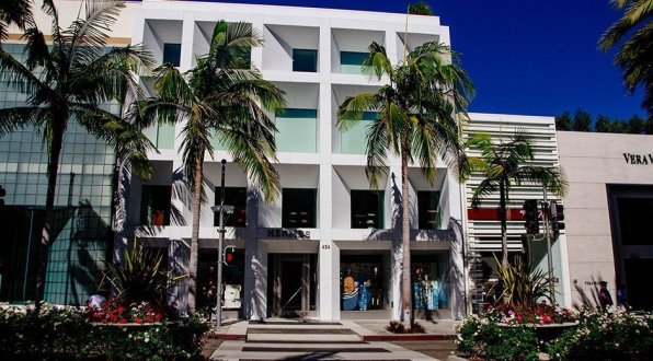 Rodeo Drive Hermes Store Los Angeles Hollywood