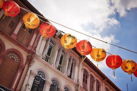 Singapore Chinatown Lampions