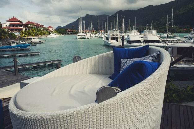 Eden Bleu Hotel Pool Sofa