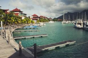 Eden Island Marina Seychellen