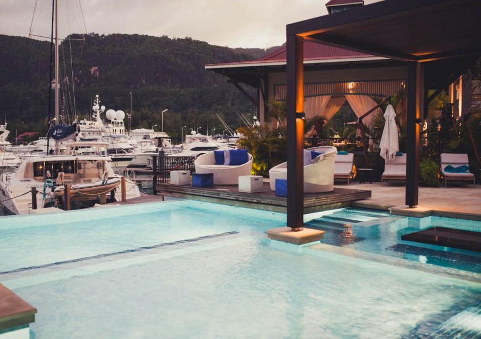 Seychellen Eden Bleu Pool Hafen