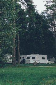 Campingplatz im Müritz Nationalpark