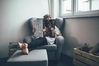 Entspannung im Sessel
