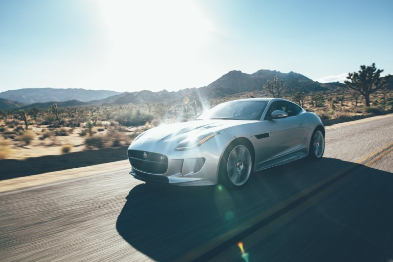 Jaguar F-Type R Joshua Tree