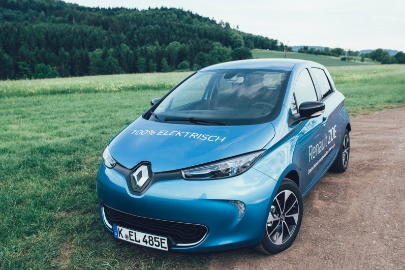Renault ZOE goes green