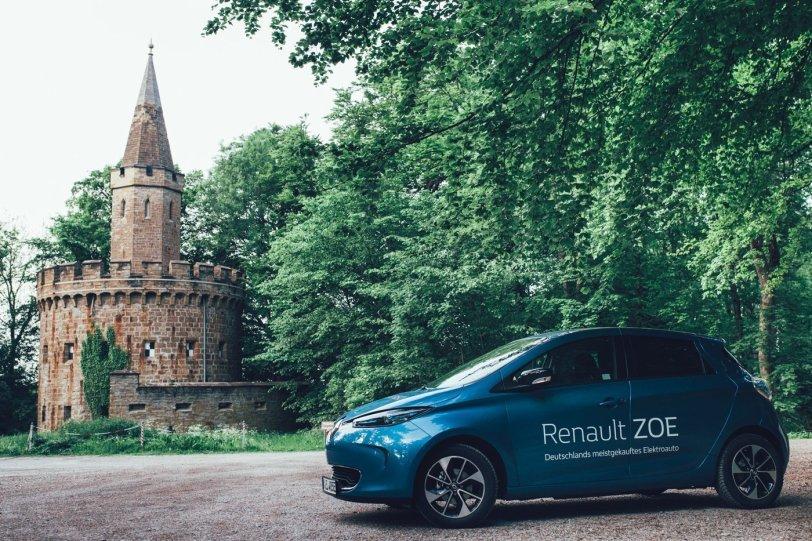 Renault ZOE Zukunft triff Geschichte