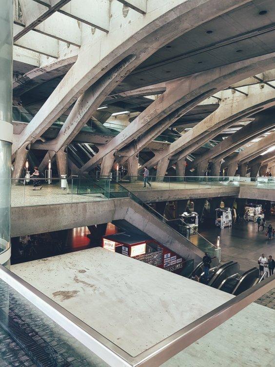 Bahnhof Oriente, Lissabon, Samsung Galaxy S8+