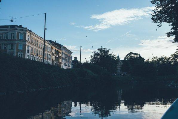 Rundfahrt mit E-Boot, Malmö