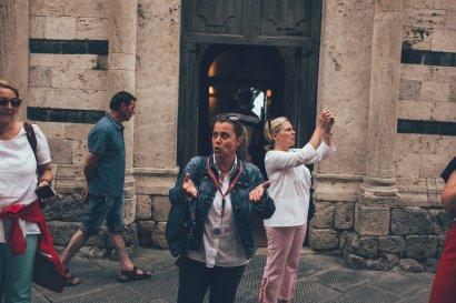 Claudia, San Gimignano