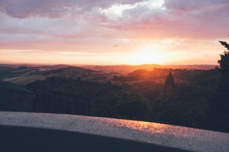 """Blick vom """"La Rocca"""""""