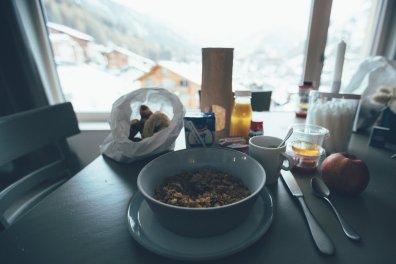 Overlook Lodge Breakfast