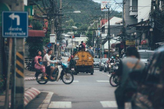 Mae Hong Son Straße