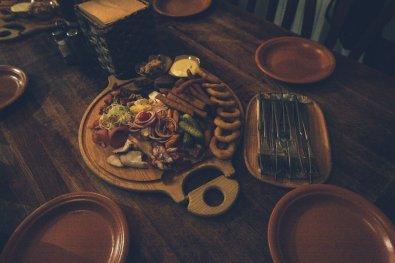 Essen im Pub Aline Leiciai