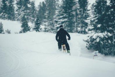 Wintersport Bucketlist Snowbike