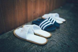 Adiletten Love zwischen La Soa Pantoffeln