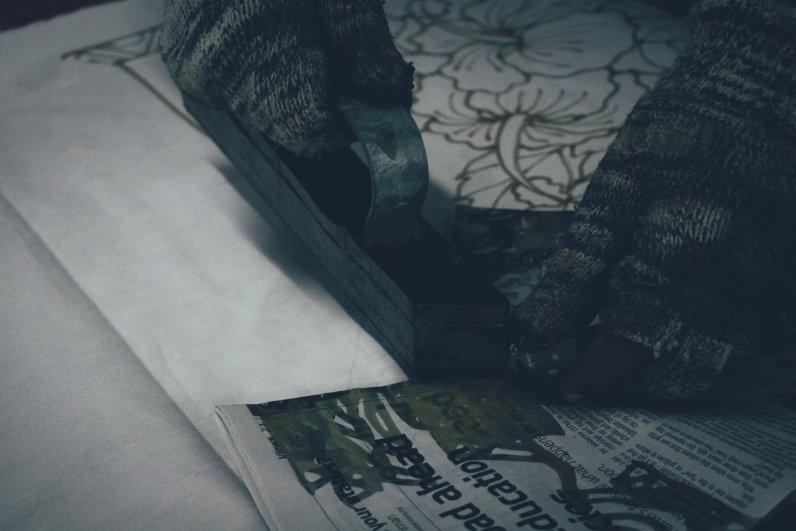 Craft Batik - Stempeln der Wachsmuster