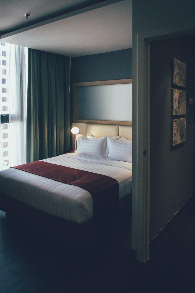 Schlafzimmer im Summit 191