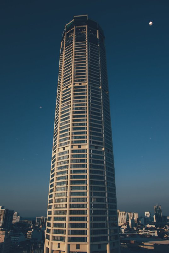 Komtar, das höchste Gebäude in Penang
