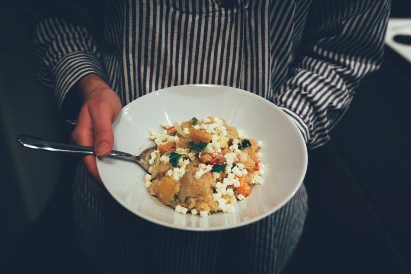 Gemüse Couscous Pfanne