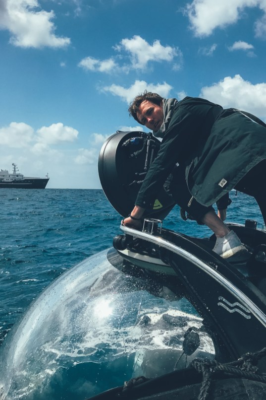 Nino steigt ins U-Boot