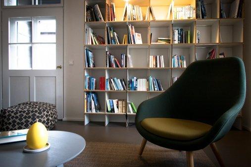 Quartier Bibliothek im Altbau