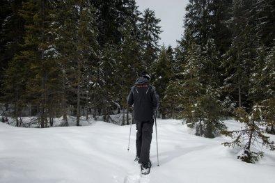 Schneeschuhwandern in Garmisch