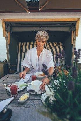 Frühstück Severin*s Resort & SPA auf Sylt