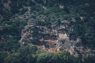 Ruinen von Kaunos