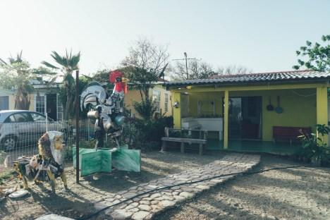 Kunst in Curacao: Omar Sling