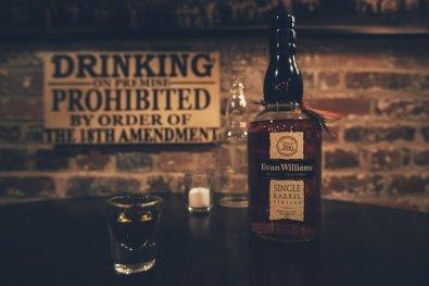 Whiskey Tasting im Speakeasy