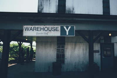 Warehouse Y der Heaven Hill Destillerie