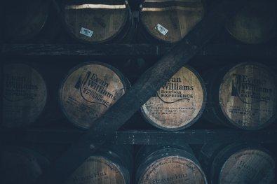 Evan Williams Bourbon Barrels
