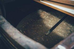 Das erste Whisky Washback von insgesamt 4