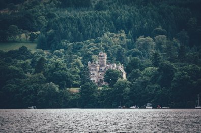 Castle am Loch Lomond
