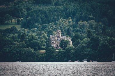 Castle am Loch Lomond