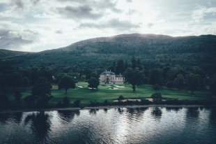 Golfplatz am Loch Lomond