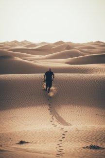 Thies in der Wüste von Dubai