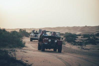 Wüsten Safari mit Platinum Heritage